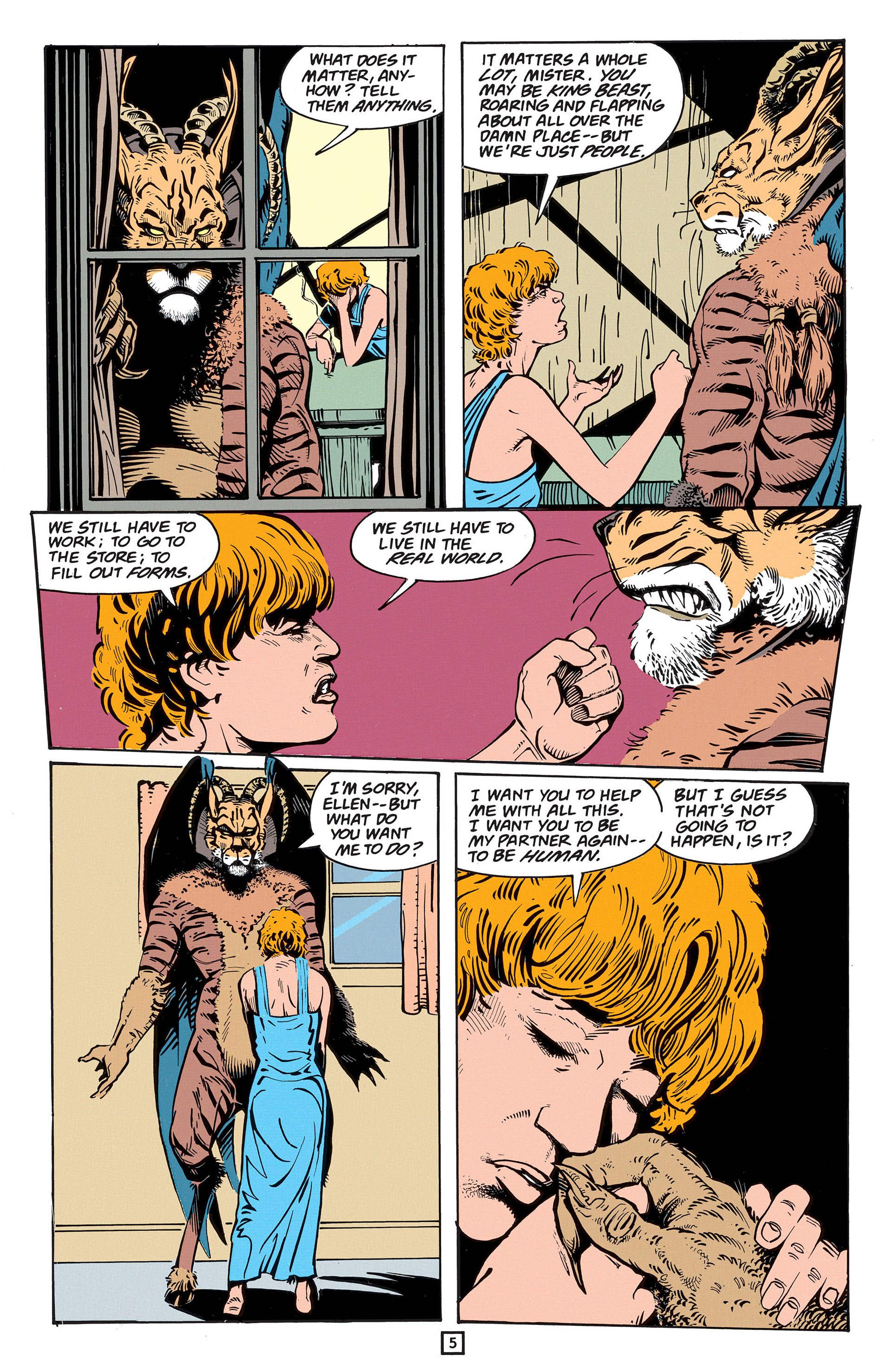 Read online Animal Man (1988) comic -  Issue #56 - 31