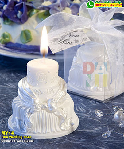 Lilin Wedding Cake