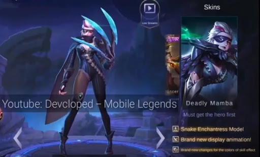 New Natalia Skin – Deadly Mamba