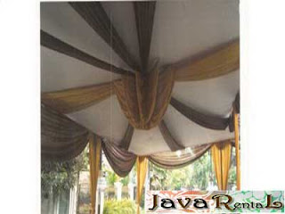 Sewa Tenda Semi Dekor - Penyewaan Tenda Semi Dekor Murah
