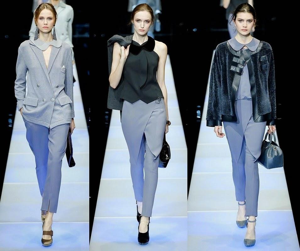 a61b93363898d Ultra Tendencias  Giorgio Armani viste a la mujer con pantalones ...