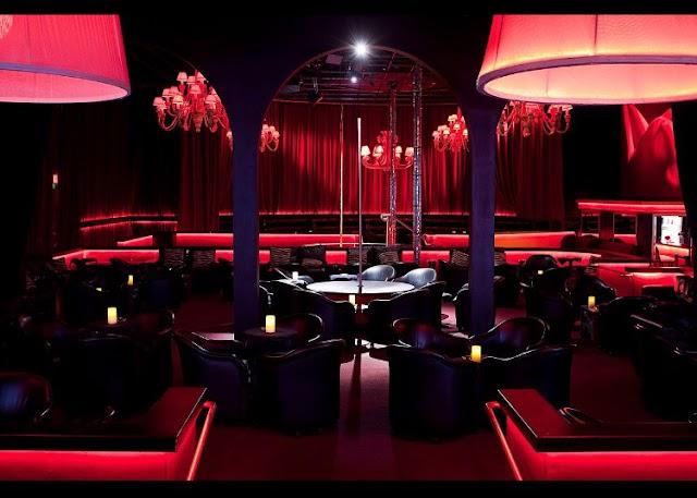 Design ideas for plush night clubs