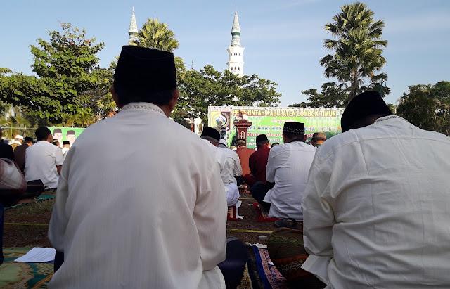 Khutbah Idul Adha di Lotim Sindir Pemimpin