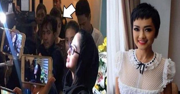 MENYERAMKAN..!! (5GAMBAR) Penampakan Arwah Jupe Ketika sidang Media Dewi Perssik ... Yang MANA Lemah Semangat Jangan BUKA..!!