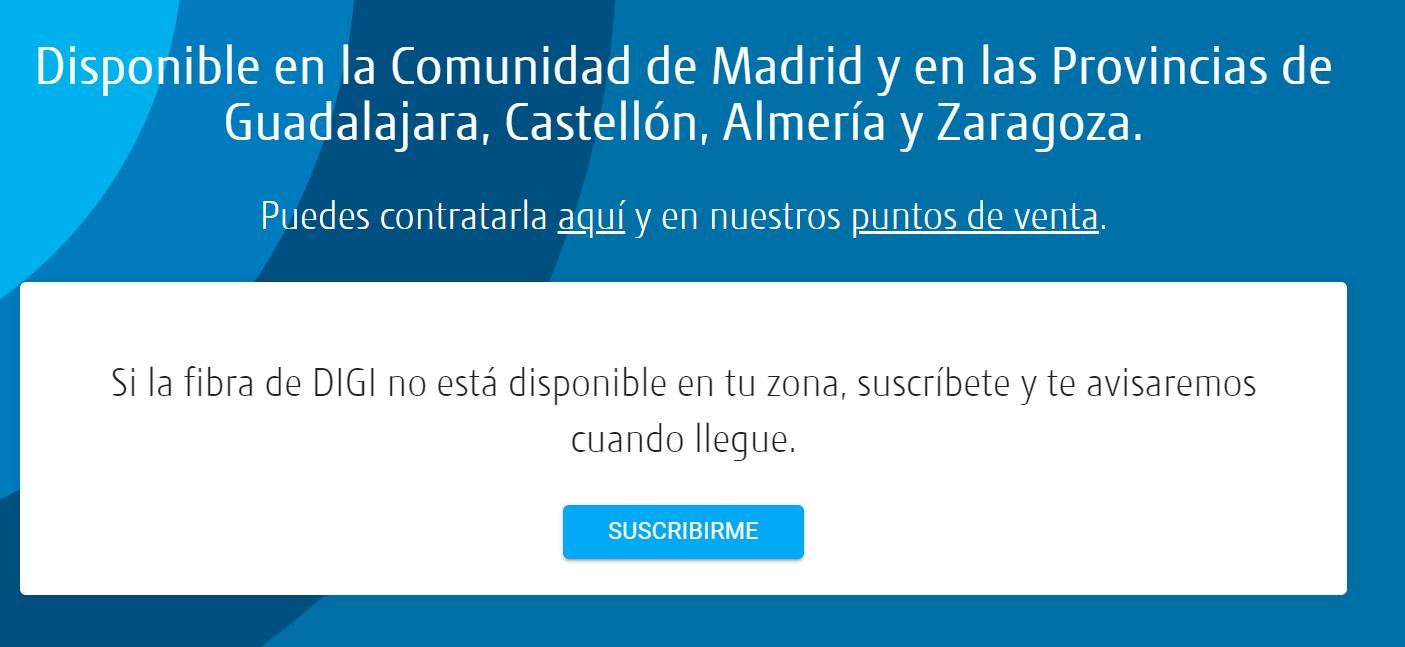 fibra Digi Zaragoza