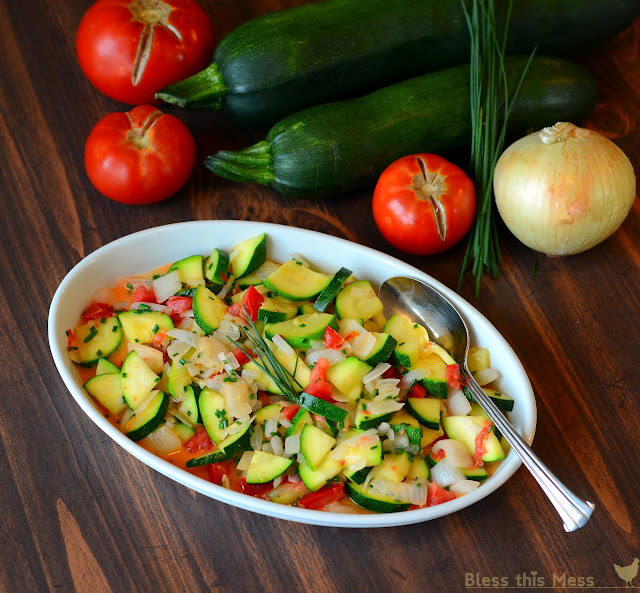 Sode Dishes: Zucchini Side Dish