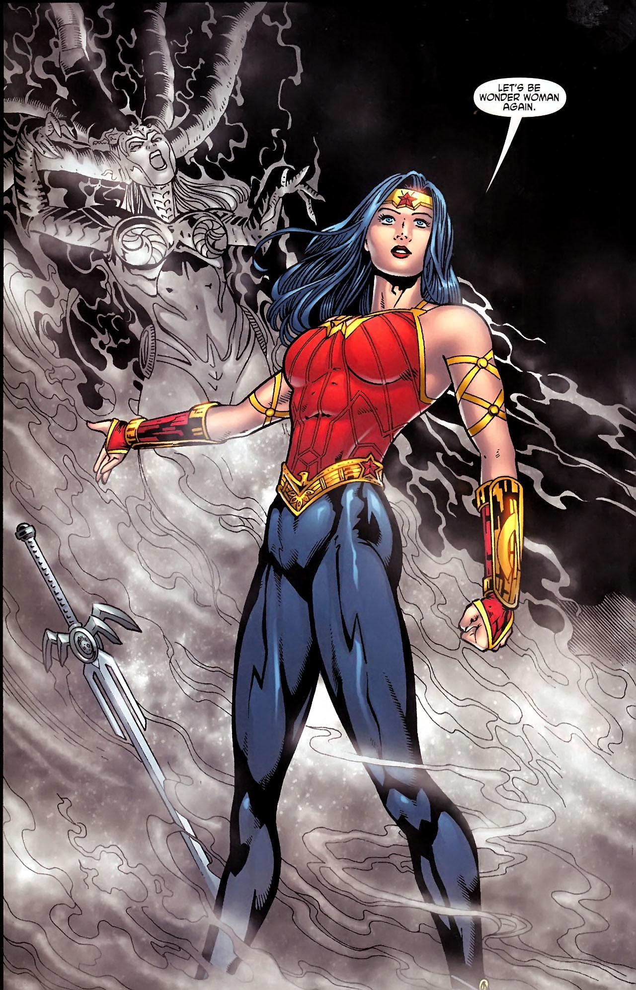 Read online Wonder Woman (2006) comic -  Issue #613 - 19