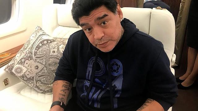 Maradona desmiente la falsa noticia de su propia muerte que se viralizó por WhatsApp