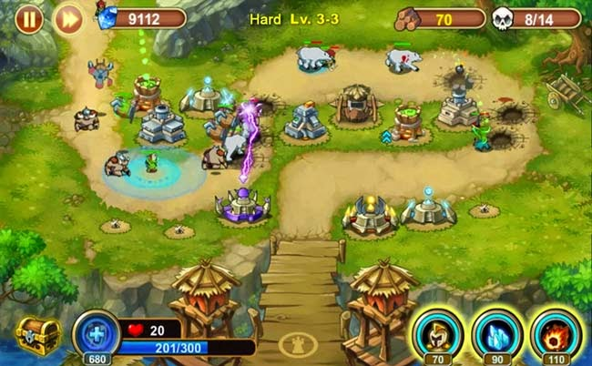 Jogo para Android Castle Defense