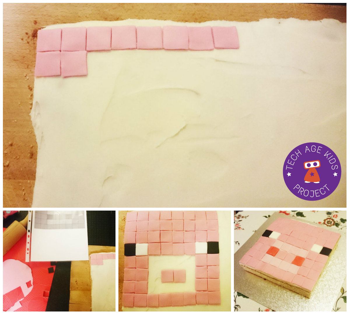 Easy Homemade Minecraft Cakes and Treats   Tech Age Kids