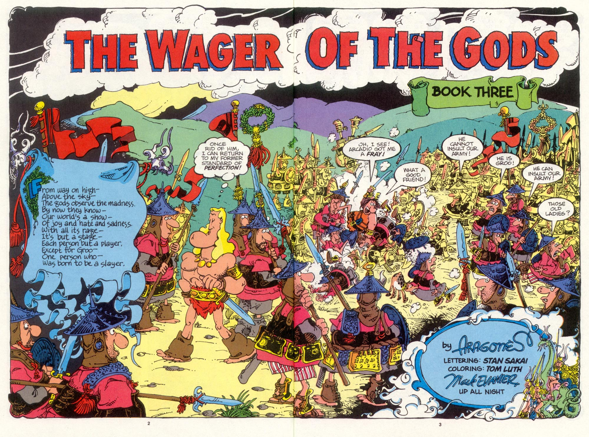 Read online Sergio Aragonés Groo the Wanderer comic -  Issue #98 - 4