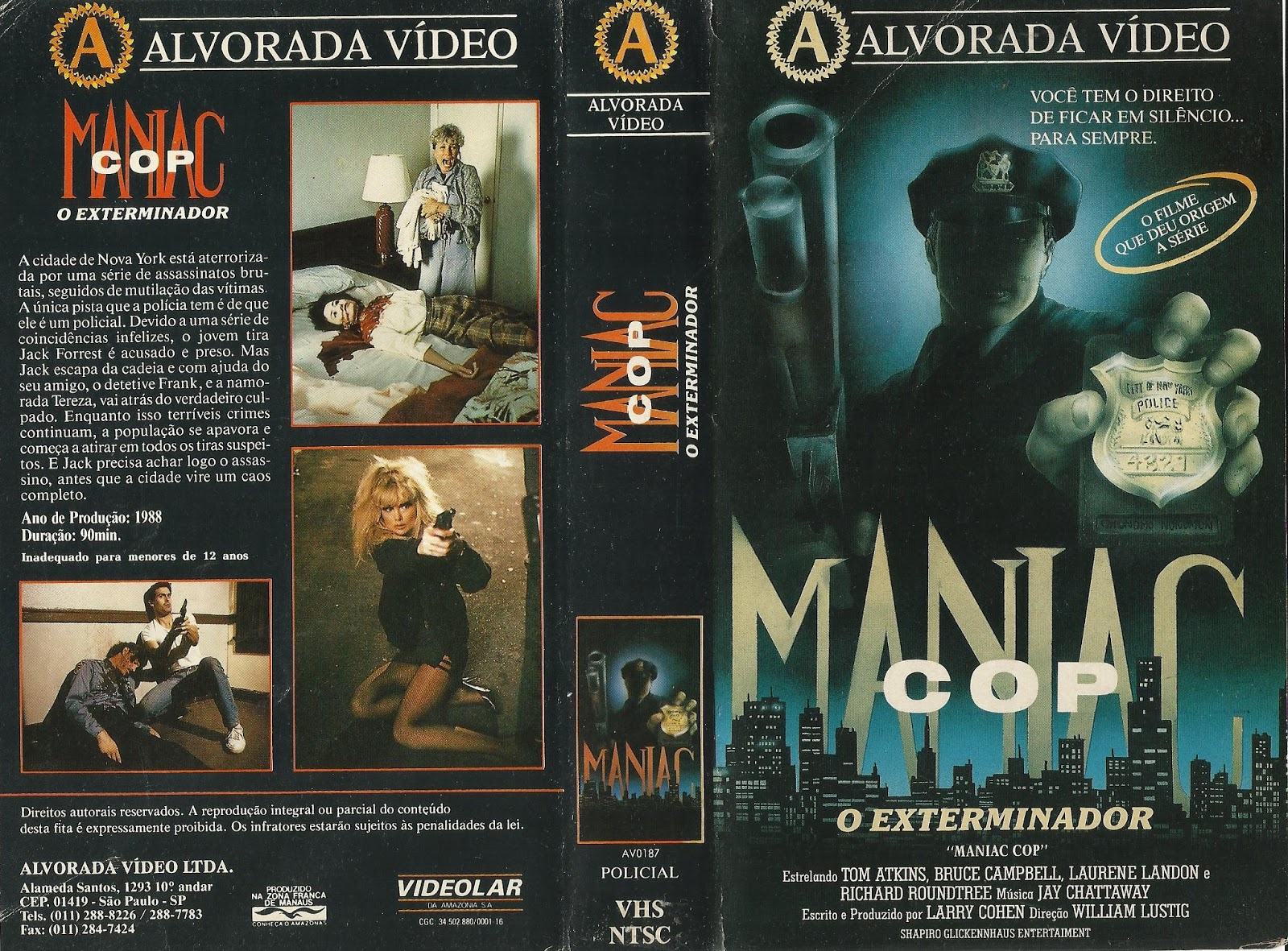 Poster do filme Maniac Cop - O Exterminador