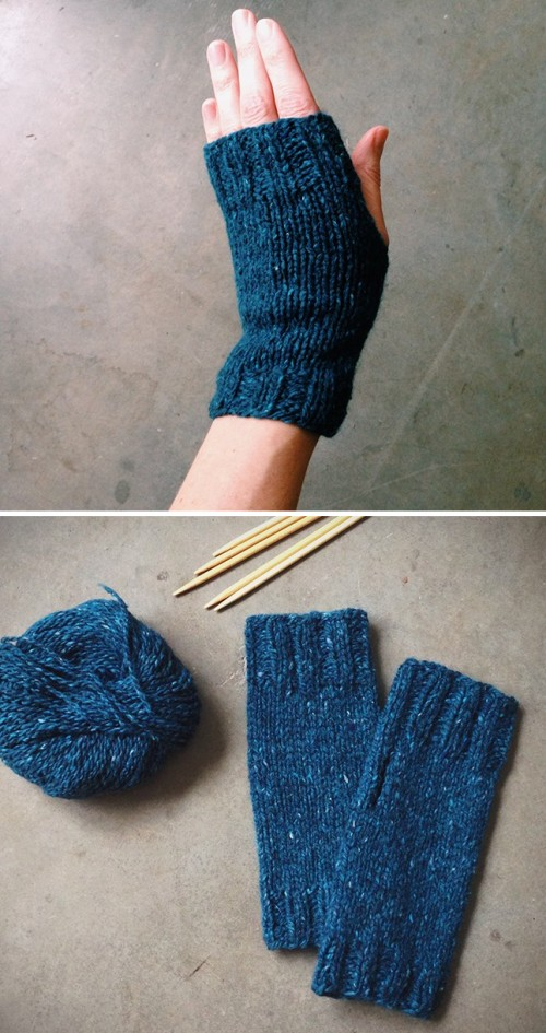 Mitts for Miss Casey - Free Pattern