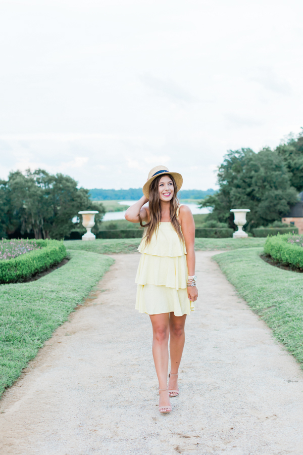 Yellow Tiered Dress | Chasing Cinderella