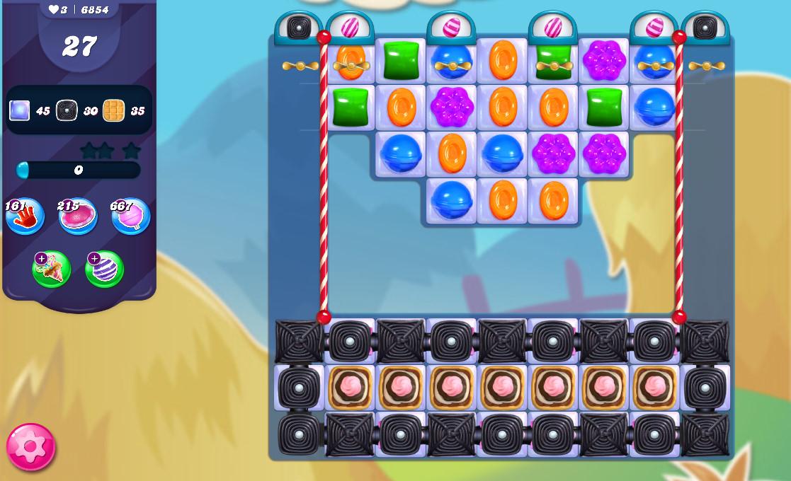 Candy Crush Saga level 6854