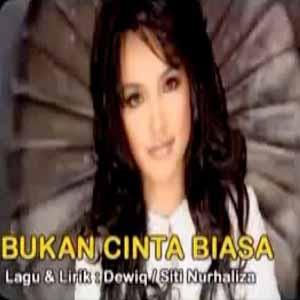 Download MP3 SITI NURHALIZA - Bukan Cinta Biasa