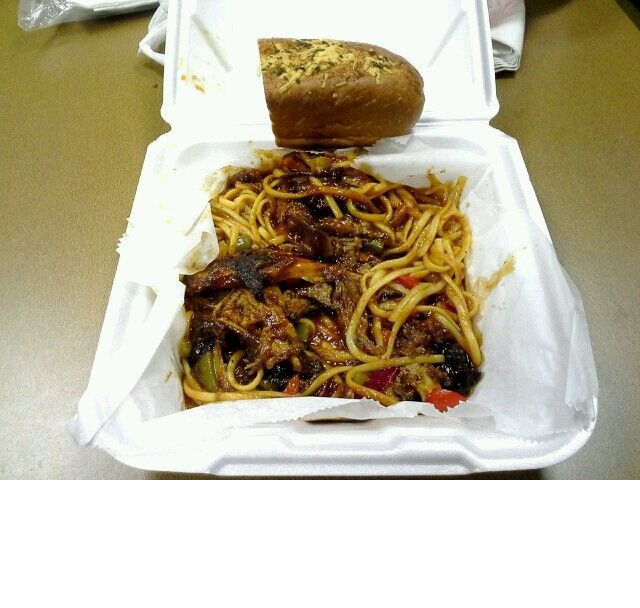 Barbecue Spaghetti by King's Palace Cafe