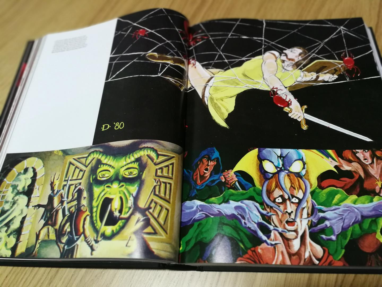 Art & Arcana - Guía de Dungeons & Dragons - Ilustraciones