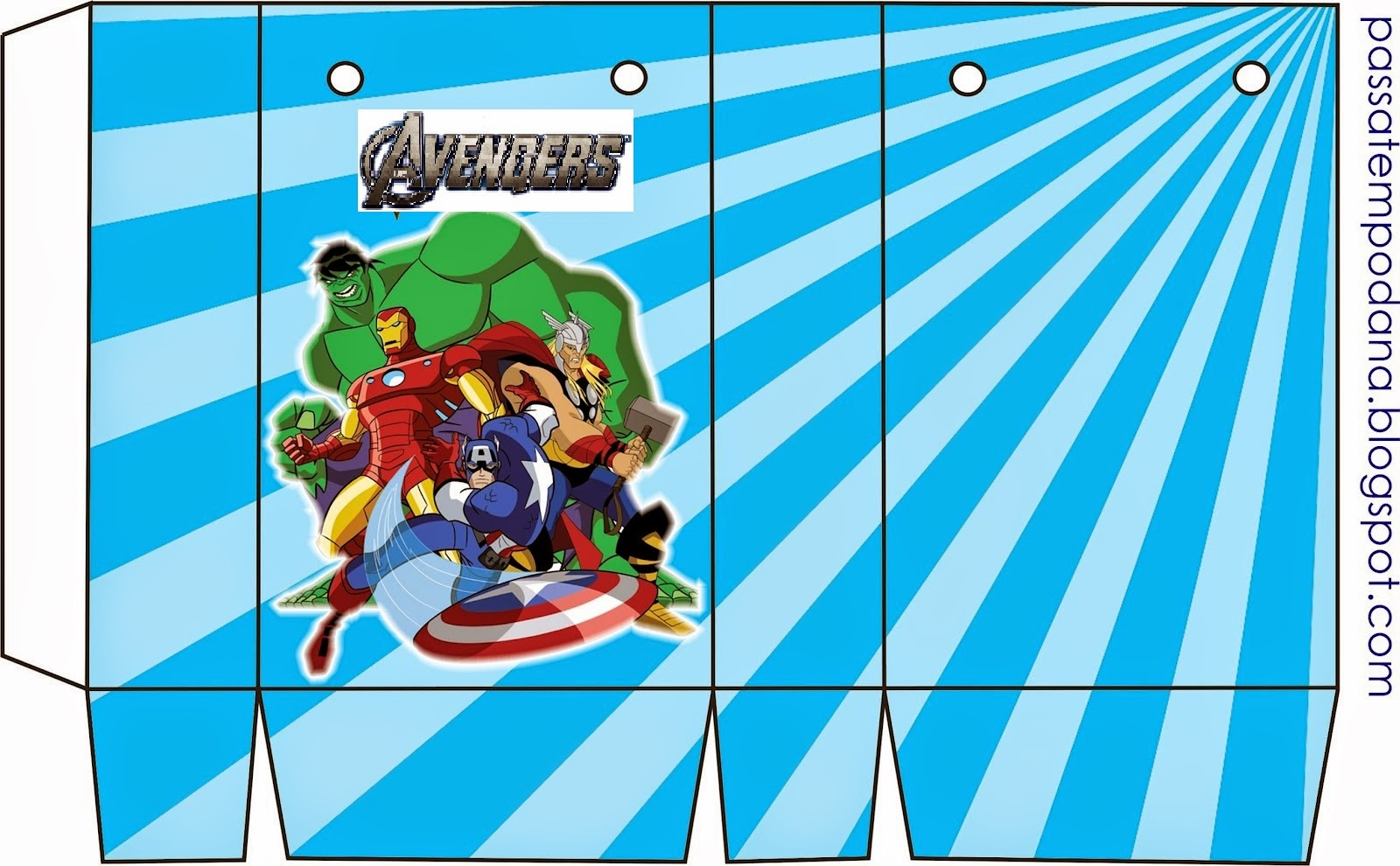 Free Printables Boxes Of The Avengers Oh My Fiesta For