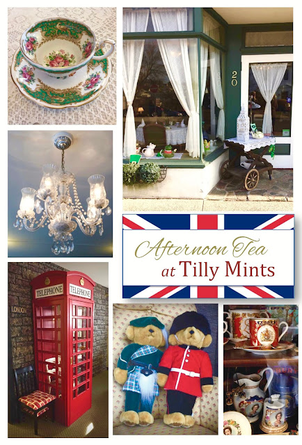 Afternoon Tea at Tilly Mints