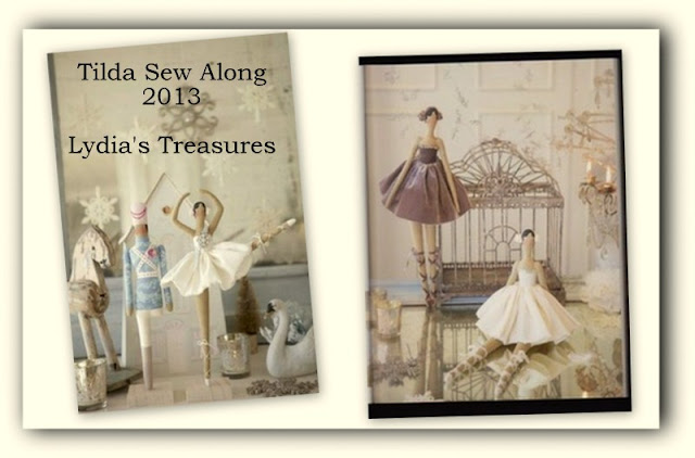 Lydias Treasures Tilda Ballerina Sew Along