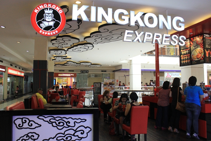 kingkong express istana plaza