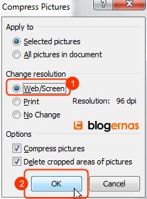 Cara Kompres Foto dan Gambar dengan Office Word