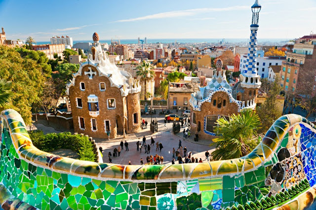 Parc Güell em Barcelona