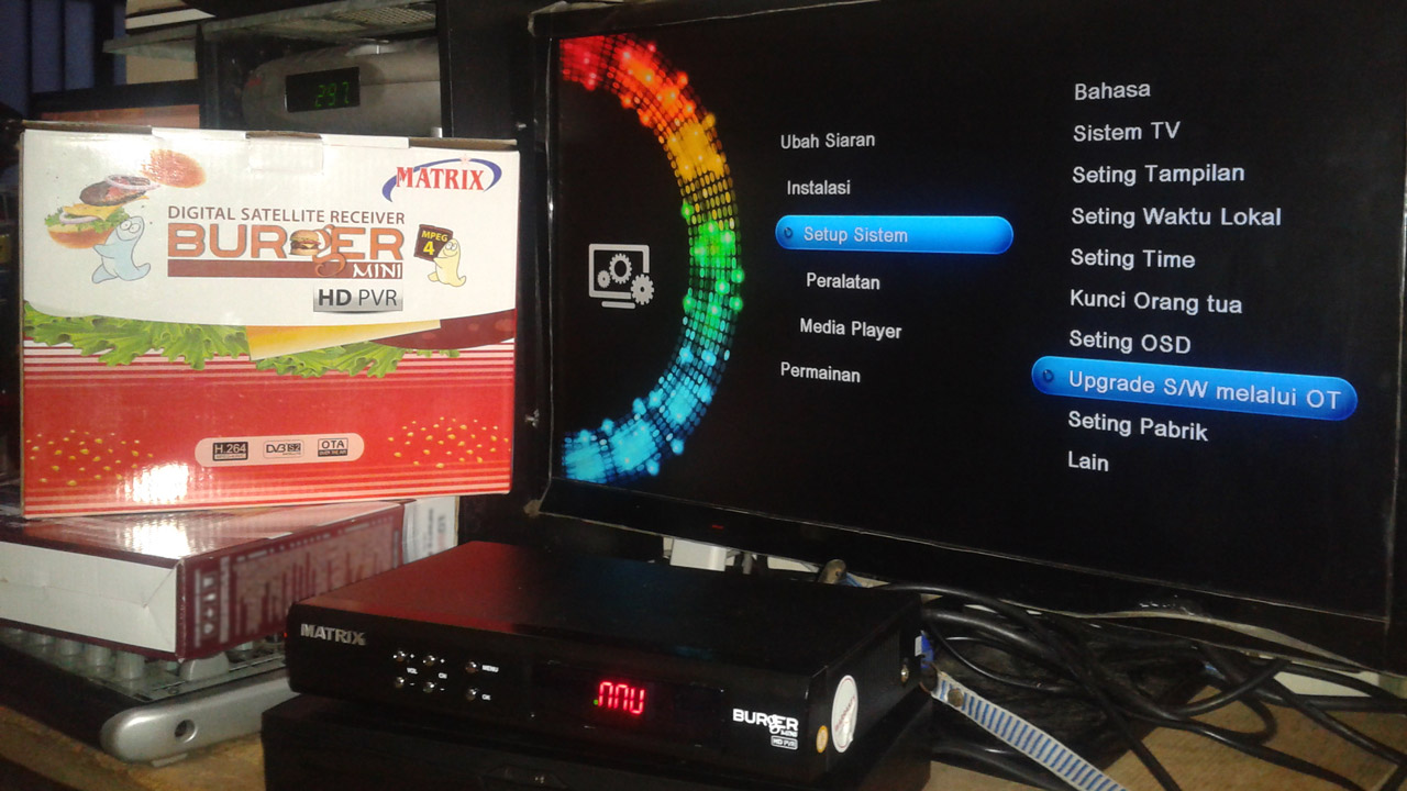 Firmware Matrix Burger Mini S1 HD PVR Upgrade Terbaru