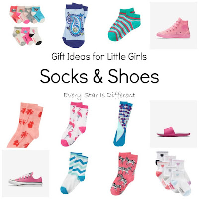 Sock and shoe gift ideas for girls summer 2017