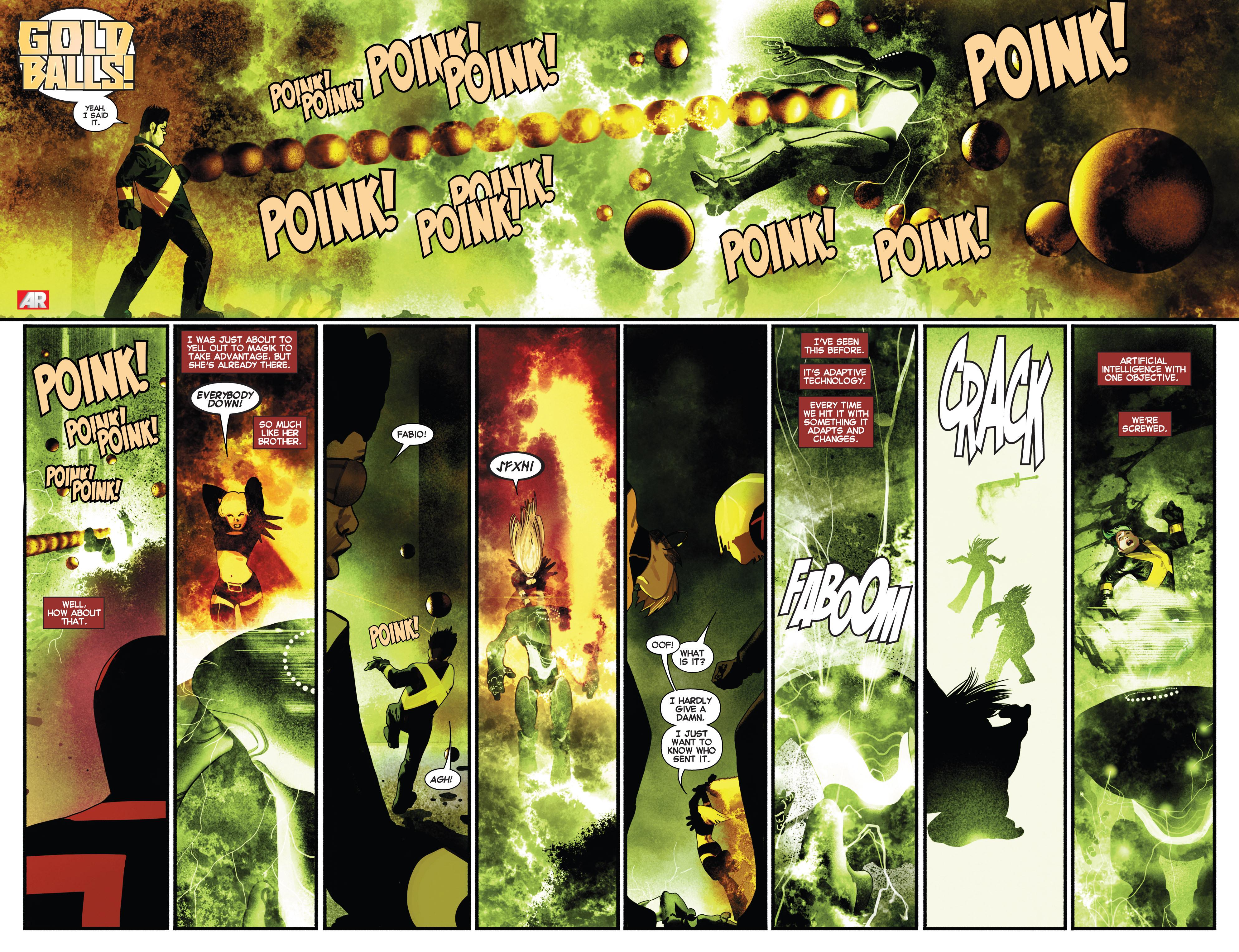 Read online Uncanny X-Men (2013) comic -  Issue # _TPB 2 - Broken - 104