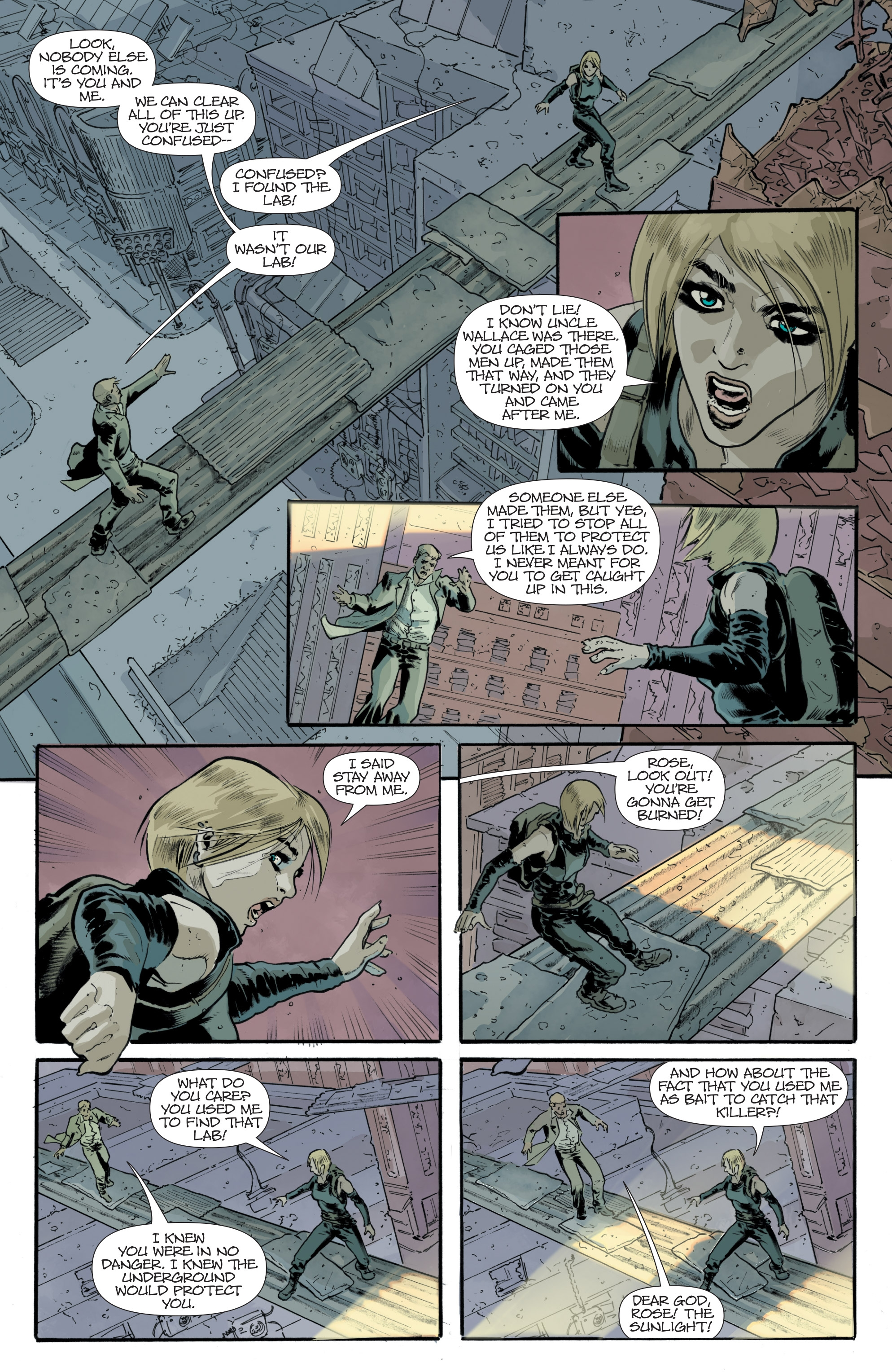 Read online Eclipse comic -  Issue #8 - 15