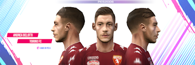 PES 6 Faces Andrea Belotti by Gabo CR Facemaker