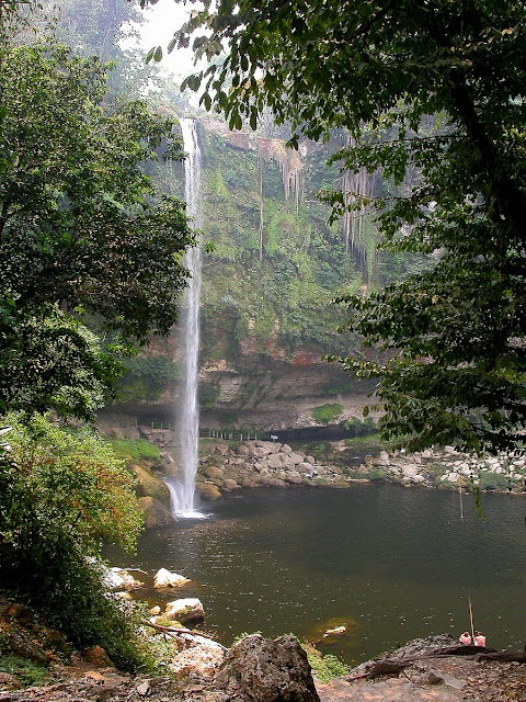 la cascade de Misol Ha
