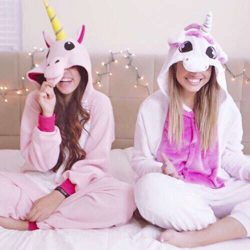 Disfraces de unicornio pijamas