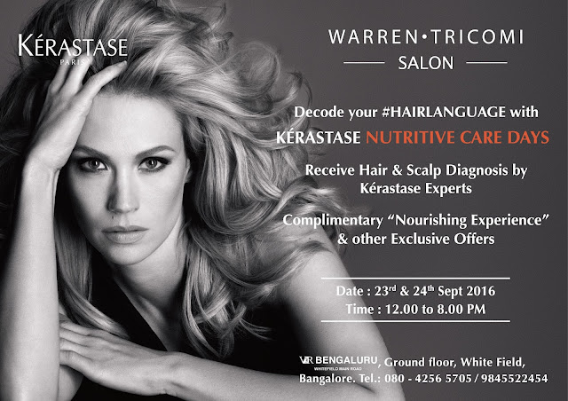Decode your hair language with KÉRASTASE NUTRITIVE CARE DAYS