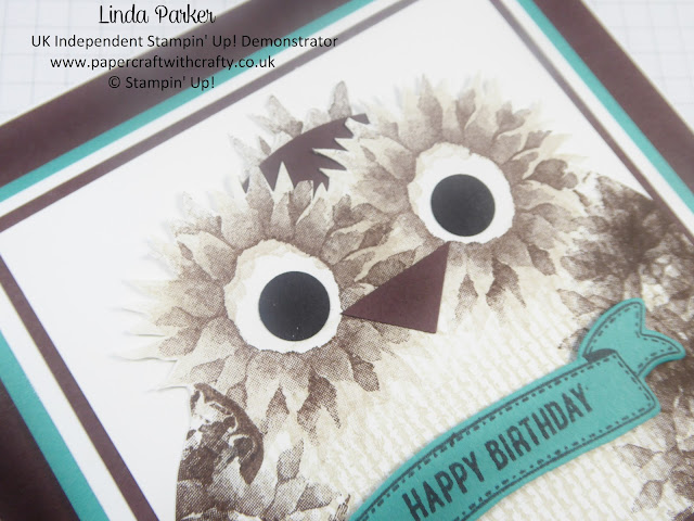 Linda Parker, Painted Harvest, Owl, UK Stampin' Up! Demonstrator