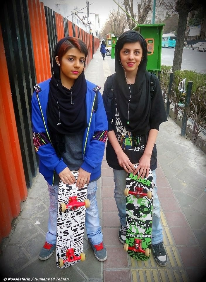 Skater girls in Tehran. - The 63 Most Powerful Photos Ever Taken That Perfectly Capture The Human Experience