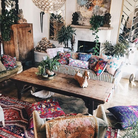 bohemian gypsy decor