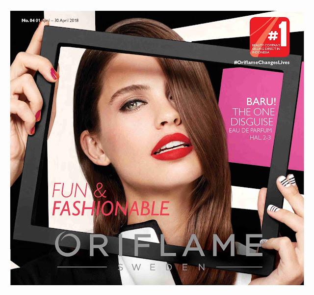 Katalog ORIFLAME Promo ORIFLAME Terbaru Edisi APRIL 2018