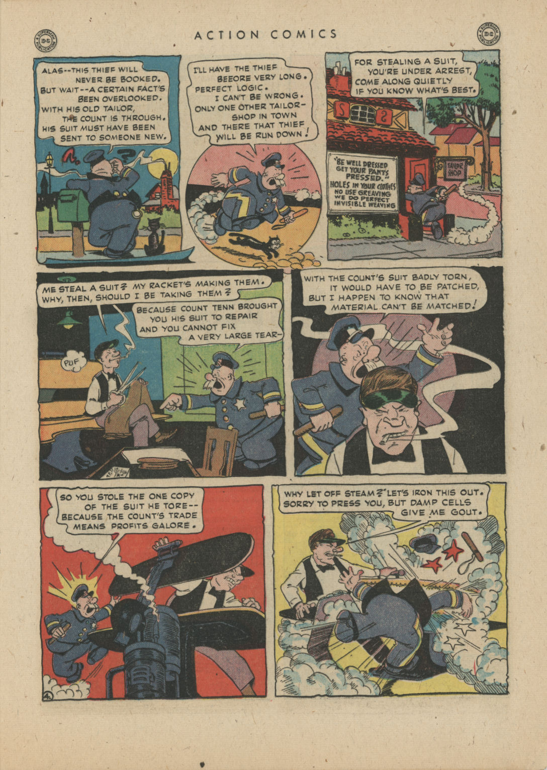 Read online Action Comics (1938) comic -  Issue #83 - 19