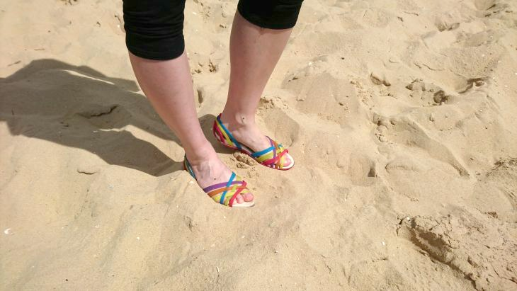 sandales croc huarache flat