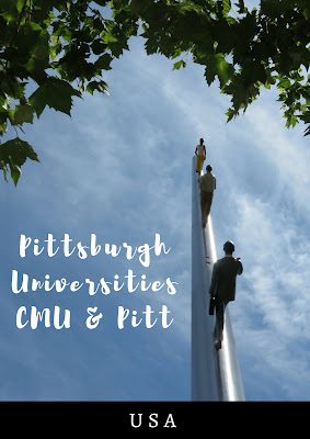 Pittsburgh Universities: Touring Pitt and Carnegie Mellon University (CMU)