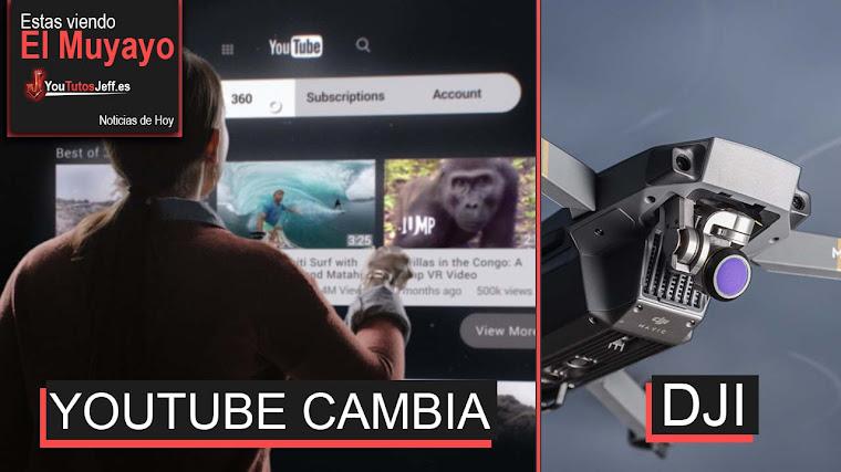Ahora es Mas difícil ganar dinero en Youtube, Whatsapp ya permite Youtube, DJI, Super 8 | El Muyayo