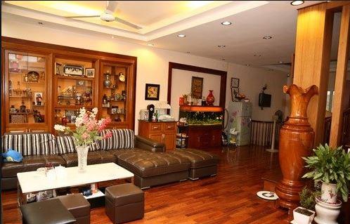 Đồ dùng nội thất mang vẻ đẹp sang trọng hiện cho ngôi nhà