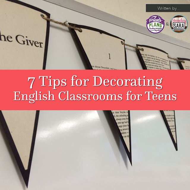 Things are stressful enough at the beginning of the school year without worrying about decorating a classroom, but it's something that must be done. Check out this post with seven tips for decorating English classrooms for teens. It doesn't need to be perfect!