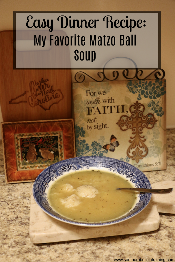 Easy Matzo Ball Soup Recipe
