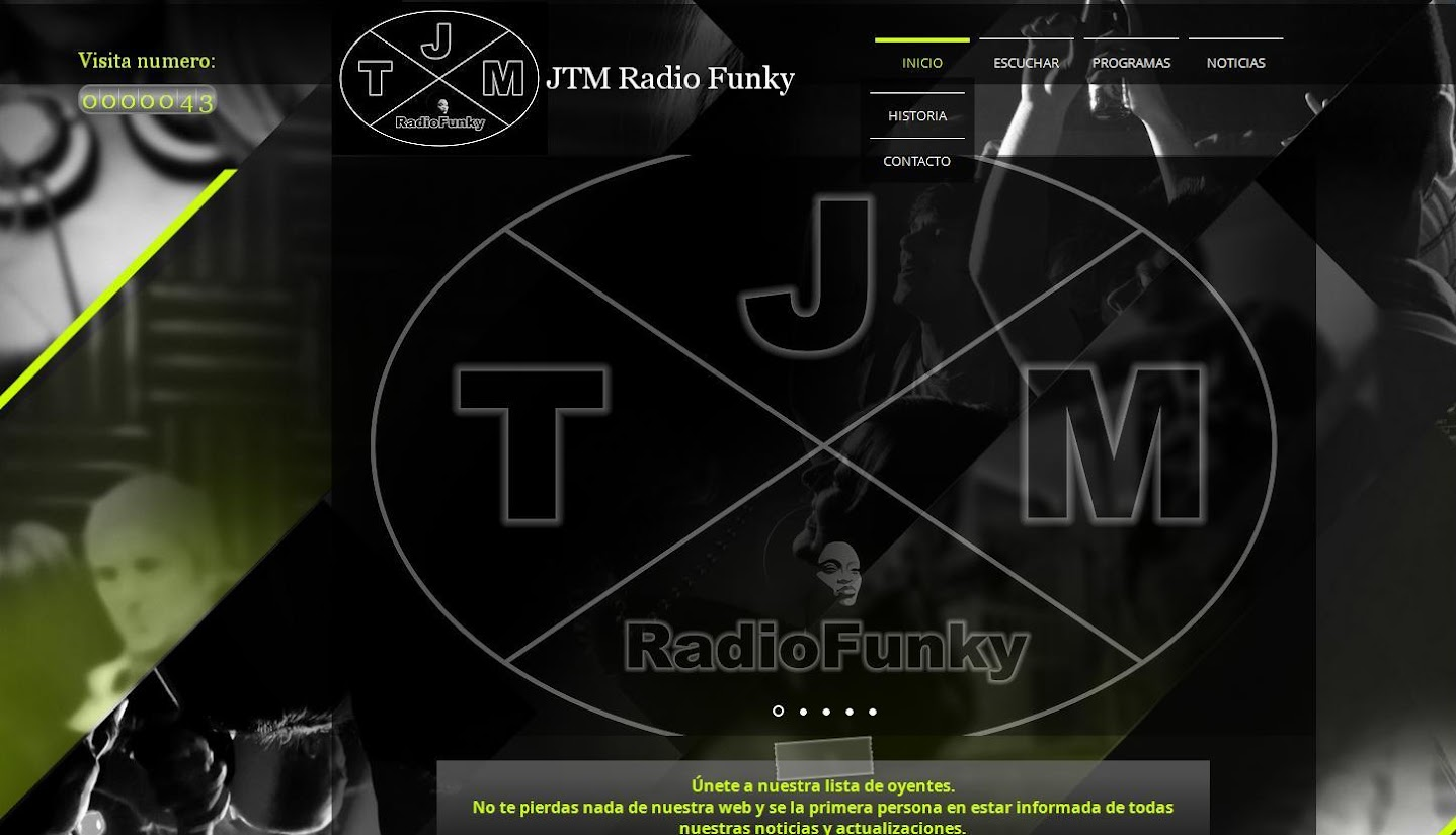 "SUNSET HOUSE ""EL PROGRAMA"" PRONTO EN JTM Radio Funky"