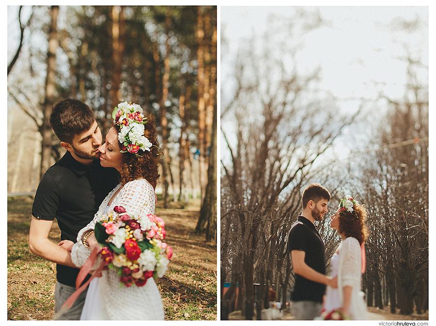 Свадебный фотограф Пятигорск Виктория Хрулёва, идеи для лавстори, веселая пара