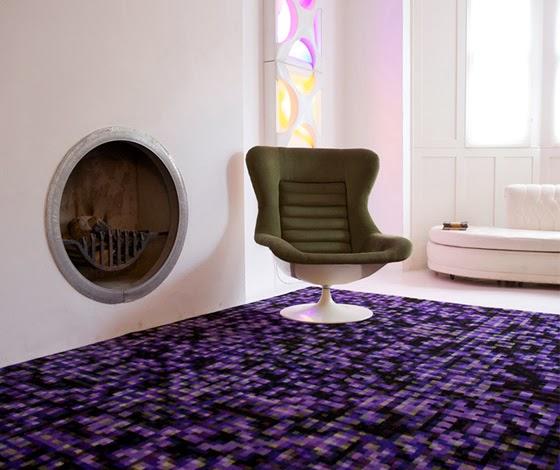 Alfombra deep grid cristian zuzunaga arquitectura y for Los mejores disenos de interiores del mundo